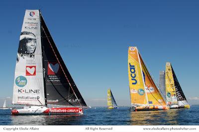 La DRHeam Cup, entre Cherbourg et La Trinité sur Mer