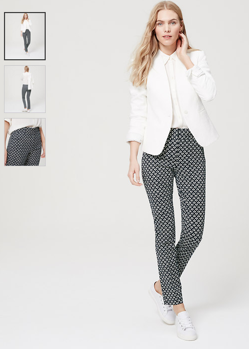loft tulip pants in marissa fit