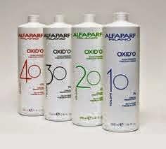 con que agua oxigenada se decolora el cabello