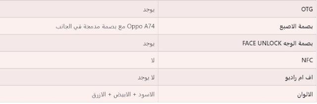 رسميًا سعر ومواصفات هاتف OPPO A74