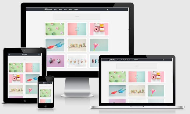 Download Template Phorto Redesign Blogger Responsive Gratis