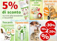 Logo Con Zooplus codici sconto e un mondo di risparmio per i vostri animali domestici
