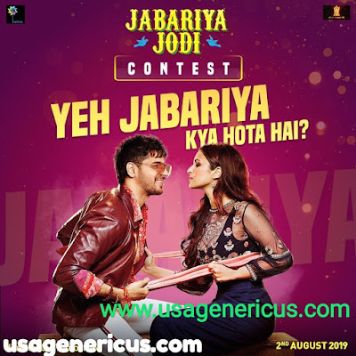 Jabariya Jodi Full Movie Download Filmywap Filmyzilla Pagalworld 720p 480p 300mb