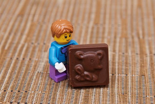 Lego - Advent Calendar - Calendrier de l'Avent - Faon - Bamby - Lego - Chocolat au lait