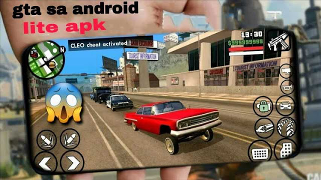 تحميل لعبة gta san android apk نسخة لايت بحجم 200 ميجا