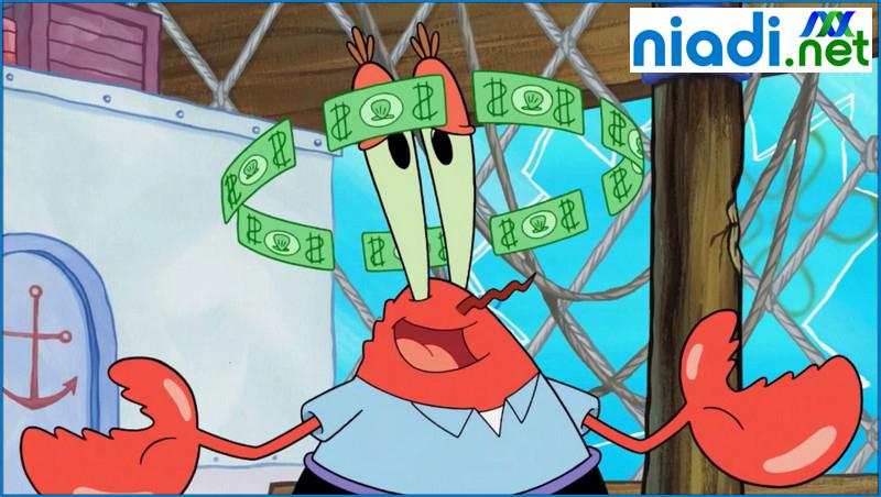 mr krabs wallpaper, mr krab di spongebob, kata kata tuan krab, tuan krab uang uang uang, tuan krabs, uang uang uang tuan krab, yujin krab spongebob