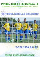 Viitorul Nicolae Balcescu - FCM 1950 Bacau