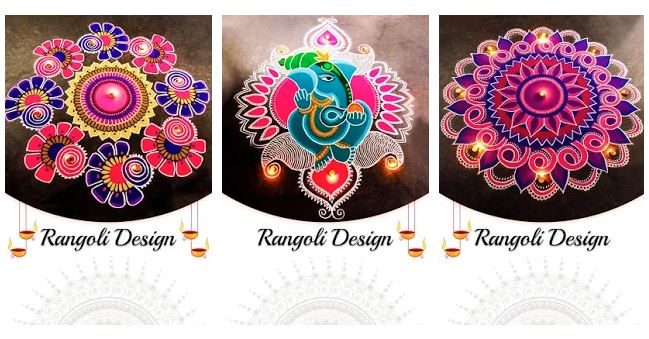 Diwali Rangoli Design PDF And Android Application