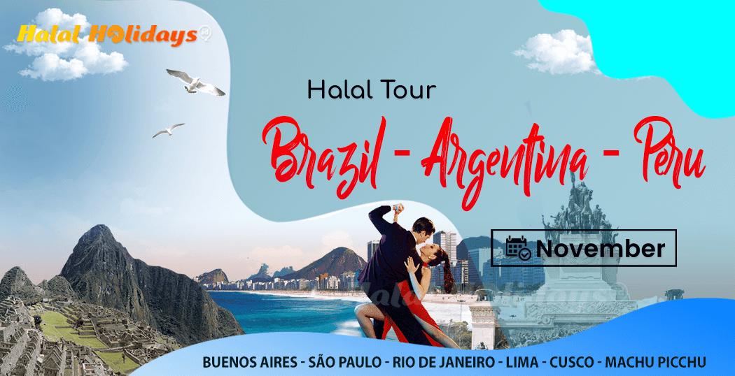 Paket Wisata Halal Tour Argentina Brazil Peru Bulan November 2022