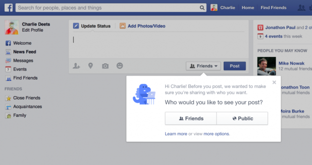 Facebook Enhances Privacy For Users