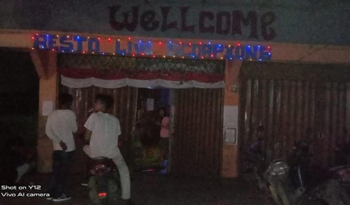 Polsek Ciruas Kembali Bubarkan THM Bandel, salah Satunya Resto Live Scorpions Kaserangan