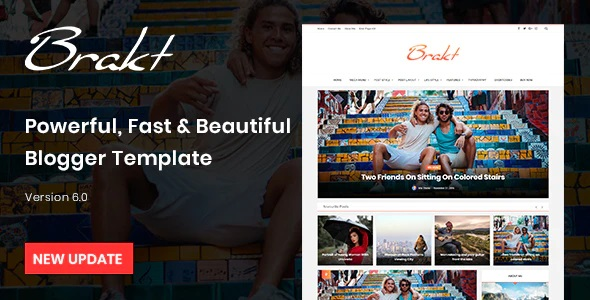 Professional Responsive Blogger Templates For Personal Blog