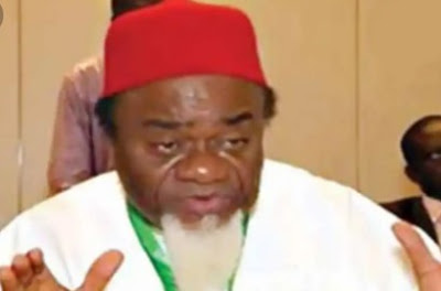 Nigeria Will Break Up If A Northerner Becomes President Again In 2023 – Ezeife