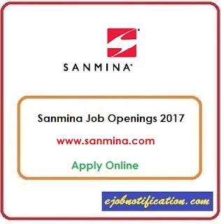 Sanmina hiring Freshers Programmer Analyst jobs in Chennai Apply Online