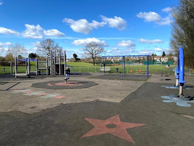 Roding Valley Recreation Ground Playground Roding Road Loughton