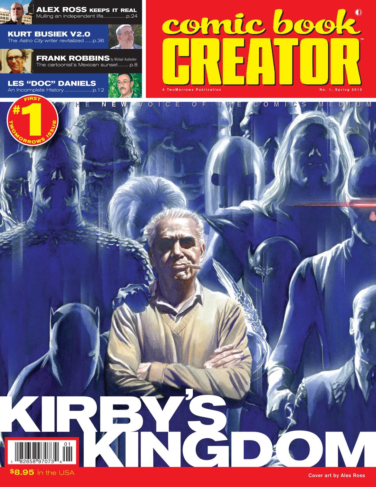 Michael Aushenker S Cartoon Flophouse King Kirby Frank