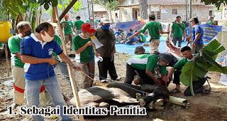 Sebagai Identitas Panitia merupakan salah satu manfaat memberikan seragam panitia qurban