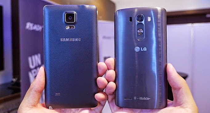 LG G3 vs Samsung Galaxy Note 4