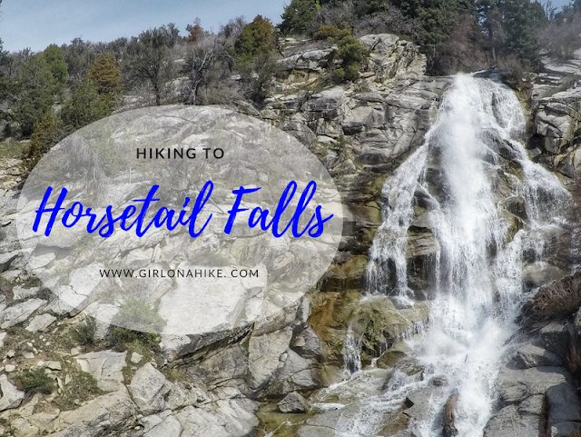 Hiking to Horsetail Falls, Utah