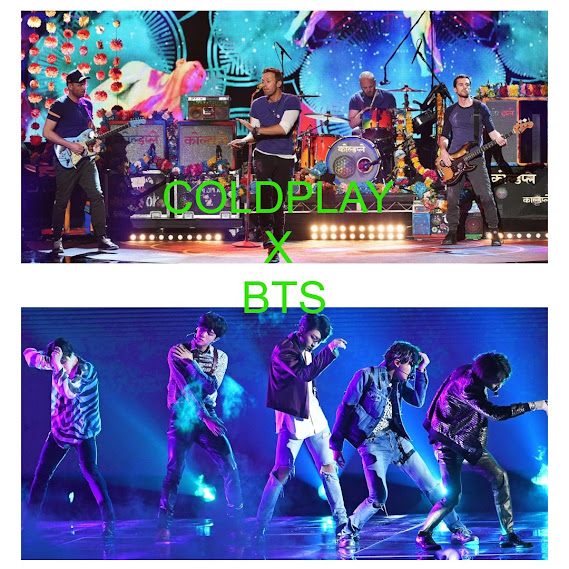 BTS X Coldplay collaboration