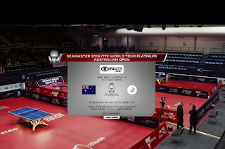 ITTF World Tour Platinum Australia Open AsiaSat 5 Biss Key 12 July 2019