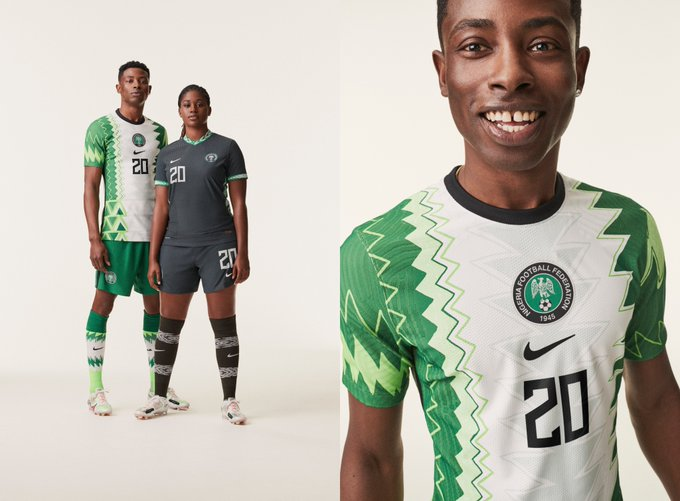 Nike Unveils New Super Eagles 2020 Jersey (Photo)
