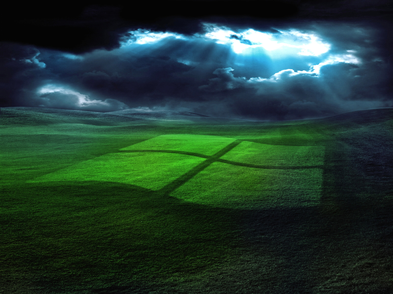 windows gras wallpaper green Wallpaper green technology