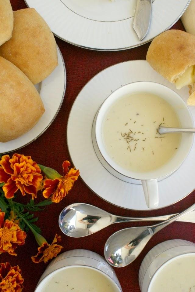 Grandma's Leek Soup