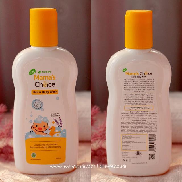 Review Mama's Choice Baby Hair and Body Wash aman untuk bayi baru lahir