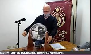 Sorteo rifa de la fundación del Hospital