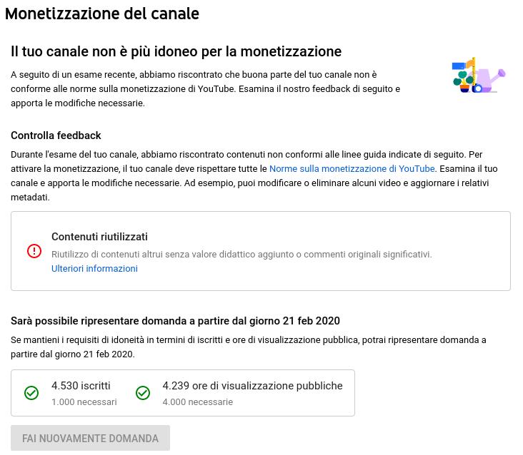 YouTube: monetizzazione negata per video che citano il Corona Virus - Youtube visualizzazioni