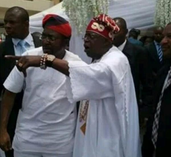 Lol. Caption this picture of Tinubu at his son's wedding yesterday