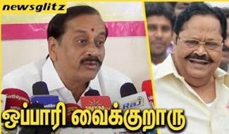 H Raja Funny speech about Durai Murugan | TN Politics