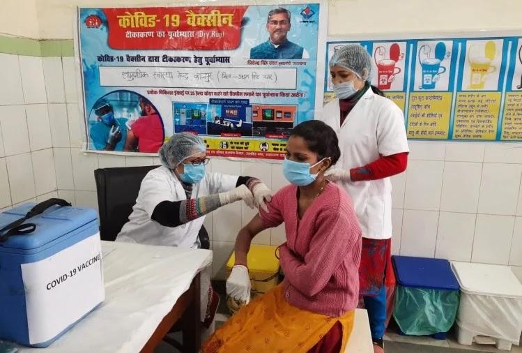 कोराना का टीकाकरण