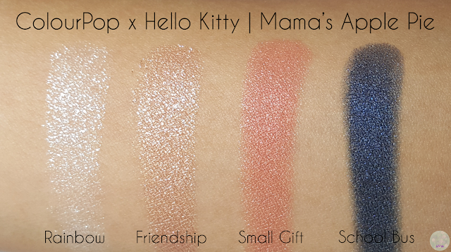 ColourPop x Hello Kitty - Mama's Apple Pie | Kat Stays Polished