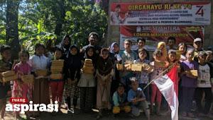 HUT KE-74 RI: Pemuda Dusun Blumbang Wonokoyo Gelar Aneka Perlombaan
