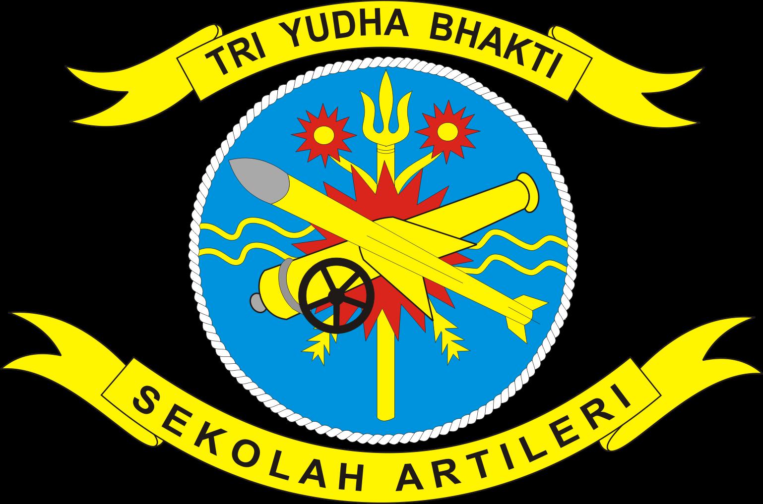 Logo Sekolah Artileri TNI AL Kobangdikal Kumpulan Logo Lambang