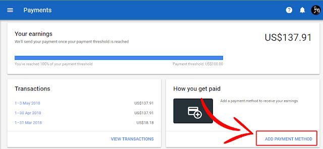 Connect Adsense To Bank
