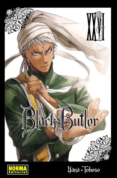 Reseña de Black Butler (Kuroshitsuji 黒執事) vol.26 de Yana Toboso - Norma Editorial