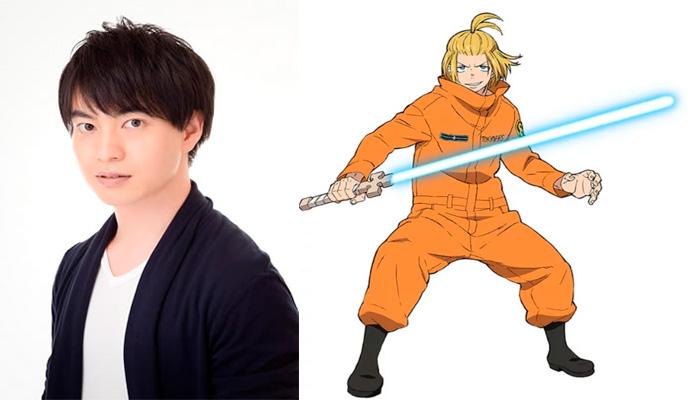 Fire Force (Enen no Shouboutai) anime - Yusuke Kobayashi como Arthur Boyle