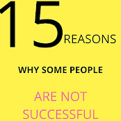 reasons why some people are not successful in the world