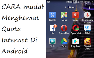 menghemat paket android