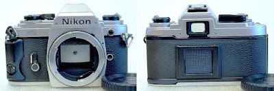 Nikon FG (Chrome)  Body #697