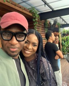 b2 - Singer Bez Idakula and spouse welcome third youngster