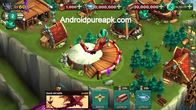Dragons: Rise of Berk ModApk