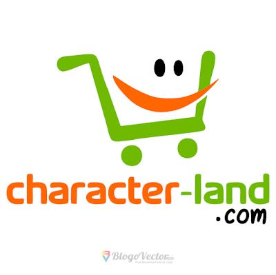 Character land Logo Vector