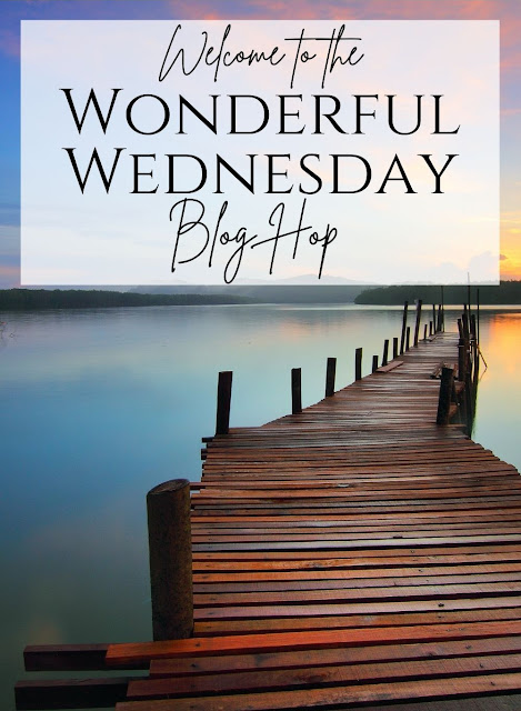 Wonderful Wednesday Blog Hop picture of lake and boardwalk.