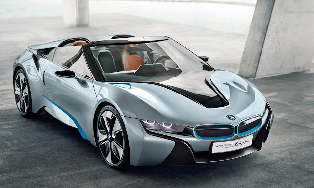 2018 BMW i8 Spyder confirms