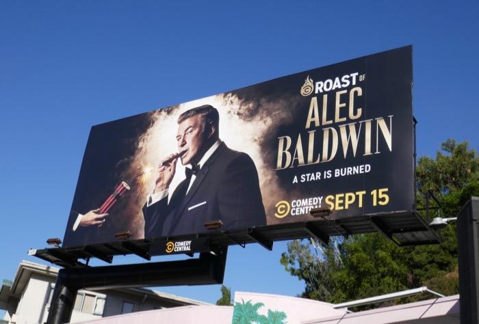 Roast of Alec Baldwin billboard