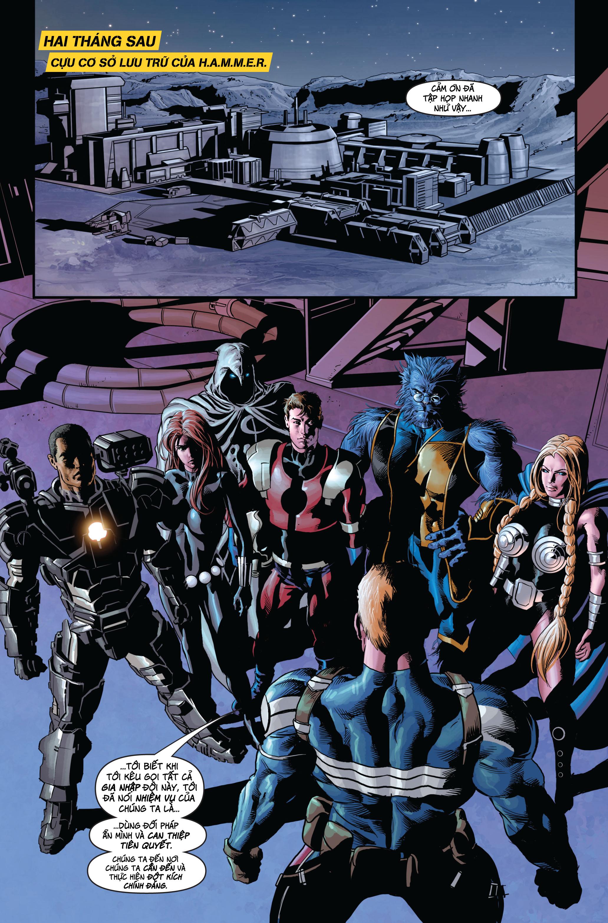 Secret Avengers 2010   Báo Thù Mật Đội 2010